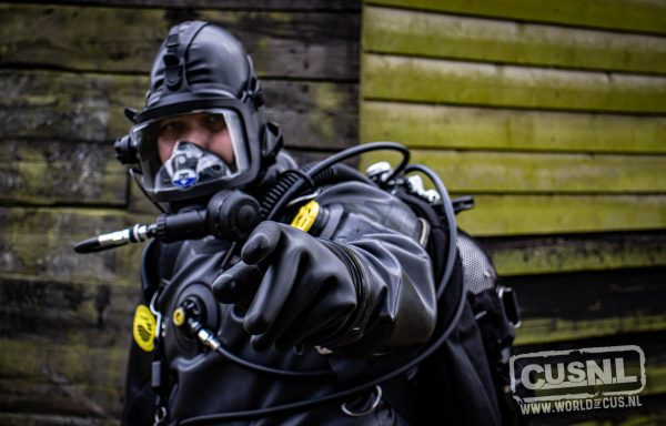 Viking Protech II black drysuit