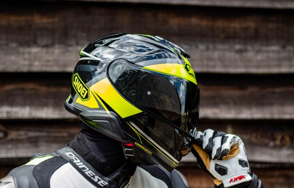 Shoei GT air II with Sena SLR2